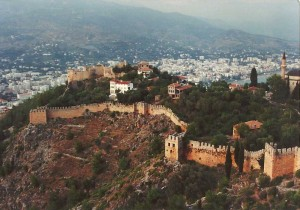 The walls of Alanya