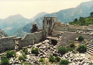 Theatre at Termessos