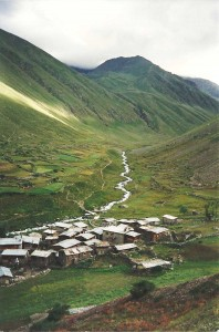 This one of the Yayla near Kartal Gölü on the slopes of Kaçkar Dağı