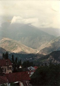 Artvin seemed to consist of one single, steep winding street.