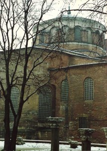 Aya Irini, apparently the first church in Constantinople.