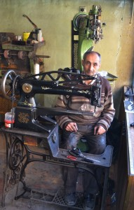 Shoemaker in Erzurum.