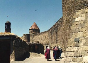 The walls of Erzurum