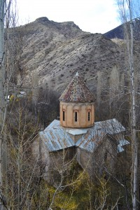 10th century Monastery of Khakhuli (Haho) in the village of Bağbaşı.