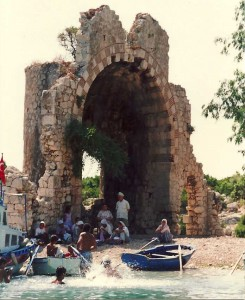 Byzantine chapel on Kekova.