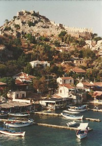 Kaleköy from the little island.