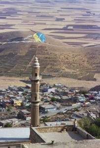Mardin seems designed for kite-flying
