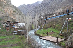 Transport to a village near the road from Yusufeli to Altıparmak (Barhal).