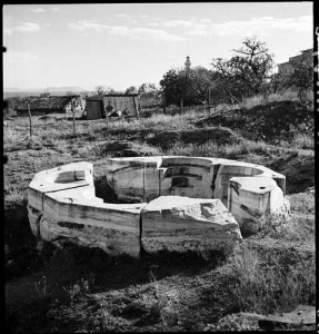 Font in The Manganes district, 1935.