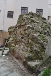 11th century remains of Beyazit Church D, Faculty of Sciences, Istanbul University.