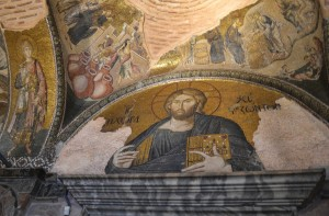 Pantocrator with the ambiguous inscription: IC HC. I ΧΩΡΑ ΤΩN ZΩΝΤΩΝ