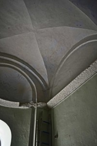 Cornices in the inner narthex