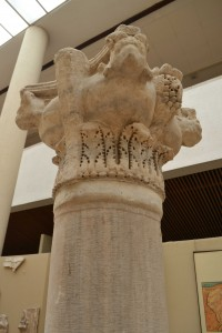 Column capitals from Mangana Church, Archaeological Museum of Istanbul.