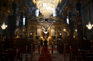 The Patriarchate before a service in October 2014
