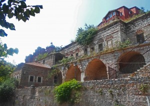 The house of Dimitrie Cantemir, onetime saviour of the Church of Theotokos Panaghiotissa.