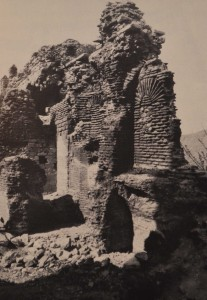 View of the church in 1976 (from Müller-Weiner, 1977)