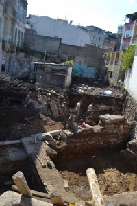 There is clearly a great deal of Constantinople to be discovered beneath the existing buildings in this area.